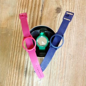 O bag Obag Clock Shift Uhr 3 Armbänder S NEU