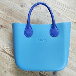 O bag Shopper blauw-paars-korenblauw
