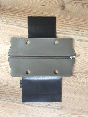 O bag Comprador marrón grisáceo