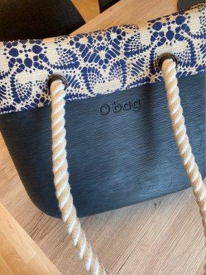 O bag Torebka portmonetka biały-niebieski
