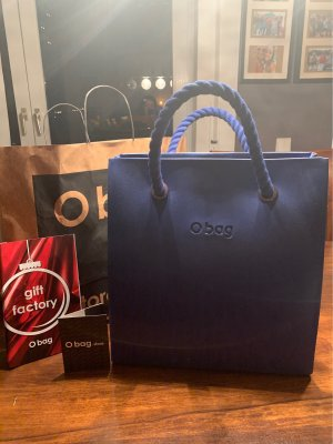 O bag Aktentas blauw