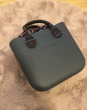 O bag Tasche schwarz grau beige borsa Mini neu Handtasche lila
