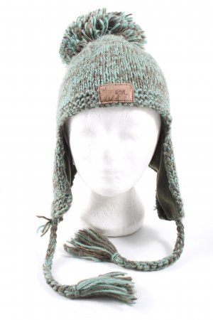 O'Neil Knitted Hat turquoise-brown flecked casual look