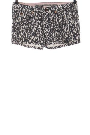 O'neill Hot Pants weiß-schwarz Allover-Druck Casual-Look