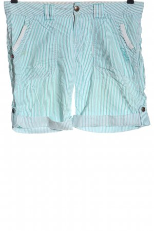 O'neill Hot pants bianco-blu stampa integrale stile casual