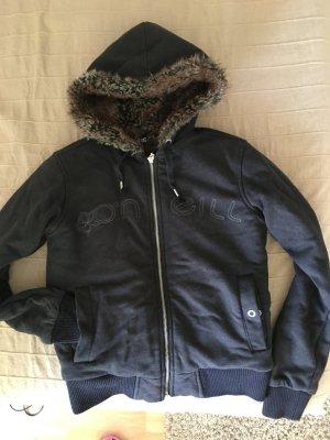O'Neill Jacke schwarz mit Fell