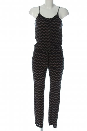 O'neill Jumpsuit black-brown allover print casual look
