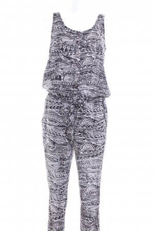 O'neill Jumpsuit weiß-schwarz grafisches Muster Casual-Look
