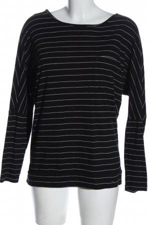 O'neill Camisa de rayas negro-blanco estampado a rayas look casual