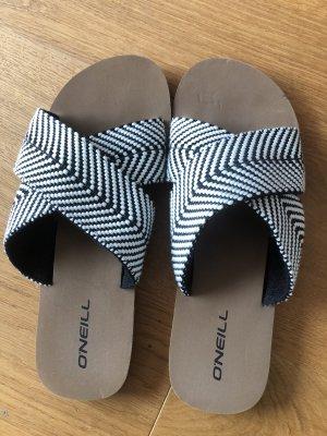 ONEILL Strandsandalen wit-zwart