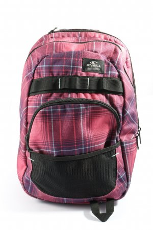 O'neill School Backpack check pattern athletic style