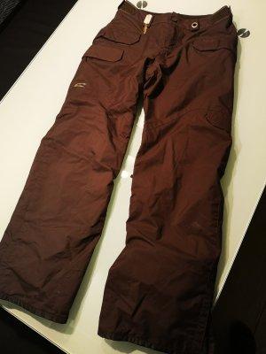 O'neill Skihose/Snowboardhose in braun in Größe 38