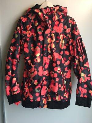 ONEILL Kurtka zimowa różowy neonowy-czarny