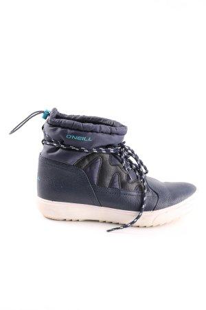 O'neill Snowboots blau-creme Casual-Look