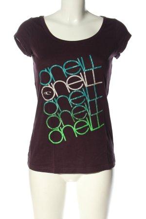 O'neill T-Shirt mehrfarbig Casual-Look