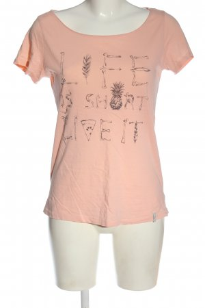 O'neill T-shirt color carne-marrone Stampa a tema stile casual