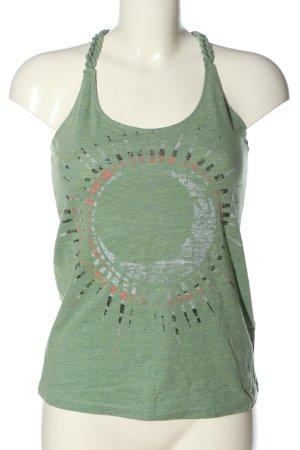 O'neill Canotta verde motivo astratto stile casual