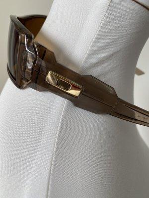 Oakley Oval Sunglasses dark brown