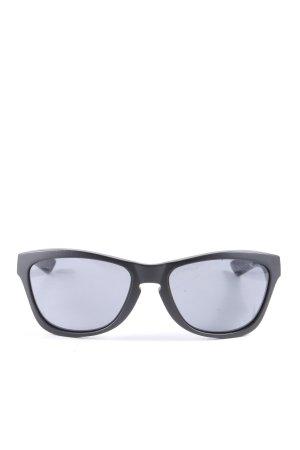 Oakley Occhiale da sole ovale nero stile casual