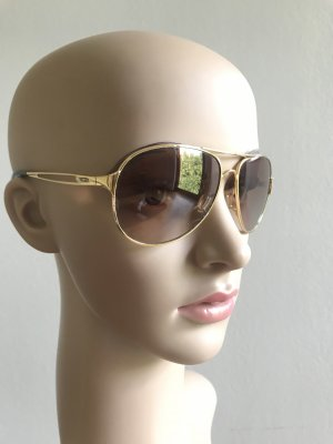 Oakley Gafas de piloto color oro