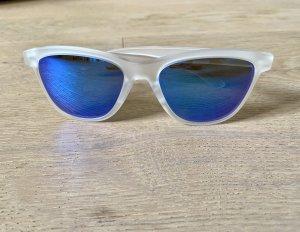 Oakley Gafas de sol ovaladas blanco-azul