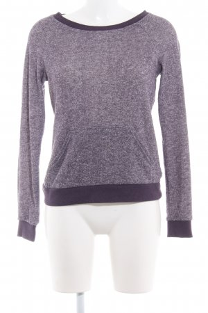 Oakley Strickpullover lila Webmuster Casual-Look