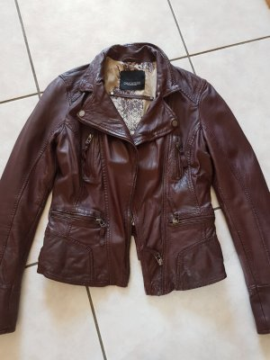 Oakwood Leather Jacket brown red