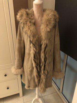 Oakwood Manteau de fourrure beige clair-beige