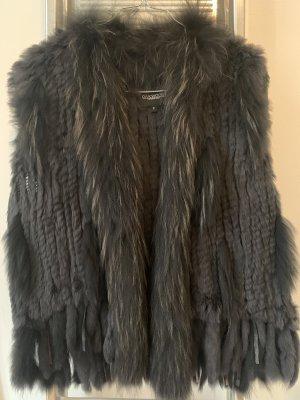 Oakwood Fur vest black