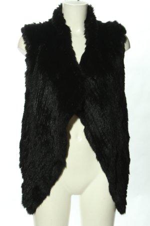 Oakwood Fur vest black party style