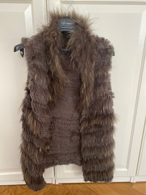 Oakwood Gilet en fourrure taupe fourrure