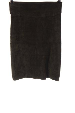 Oakwood High Waist Skirt brown casual look