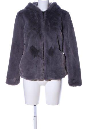 Oakwood Giacca in eco pelliccia grigio chiaro stile casual