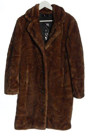 Oakwood Fake Fur Coat brown elegant
