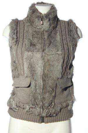Oakwood Smanicato di pelliccia grigio chiaro stile casual