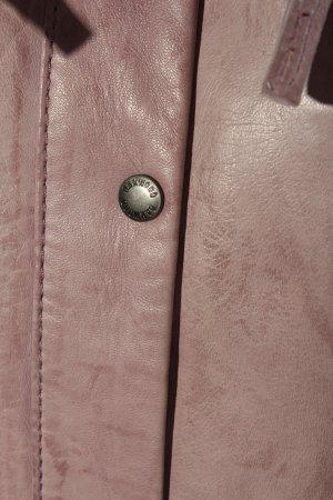 Oakwood Kurtka z imitacji skóry różowy W stylu casual