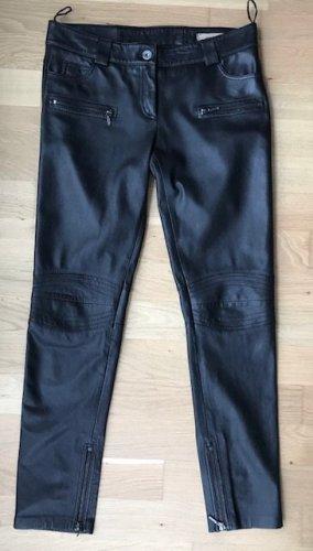 Oakwood Lammnappa Lederhose Gr40 schwarz