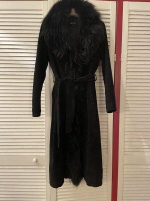 Oakwood Leather Coat black leather