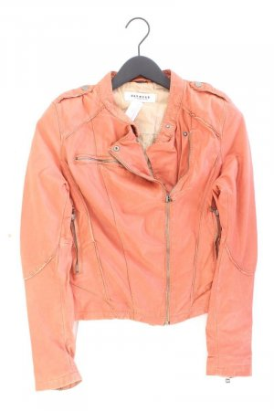 Oakwood Veste en cuir orange doré-orange clair-orange-orange fluo-orange foncé