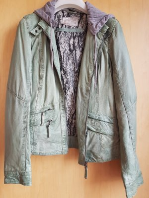 Oakwood Lederjacke Mint