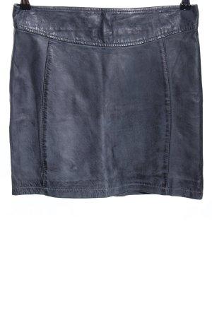 Oakwood Leather Skirt black casual look