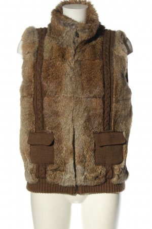 Oakwood Pelzjacke braun Casual-Look