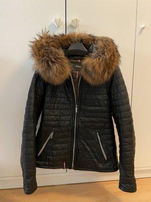 Oakwood Winter Leder Jacke