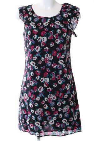 Oasis A-Linien Kleid Allover-Druck Casual-Look
