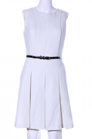 Oasis A-Linien Kleid weiß Business-Look