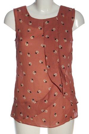 Oasis Bluzka bez rękawów Na całej powierzchni W stylu casual