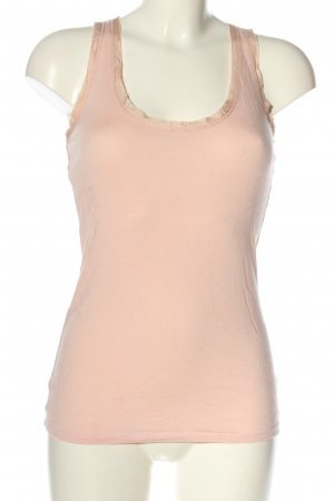Oasis Basic Top pink Casual-Look