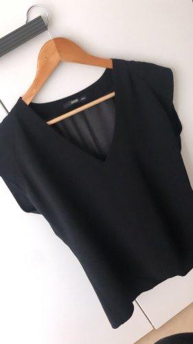 Oasis Jedwabna bluzka czarny