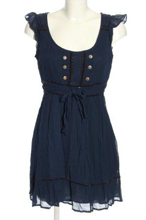 Oasis Blusenkleid blau Casual-Look