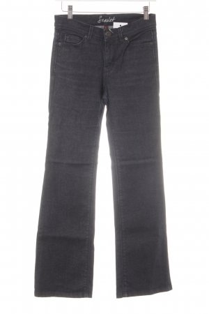 Oasis Boot Cut Jeans dunkelblau Casual-Look